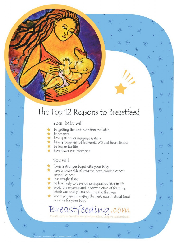 Poster from Breastfeeding.com